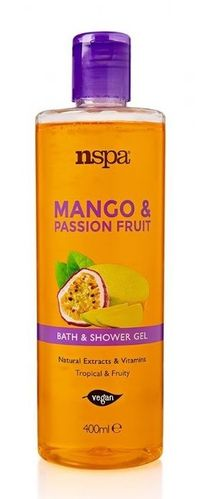 Mango & Passion Fruit Bath & Shower Gel 400ml