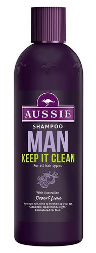 AUSSIE Shampoo MAN Keep It Clean 300ml