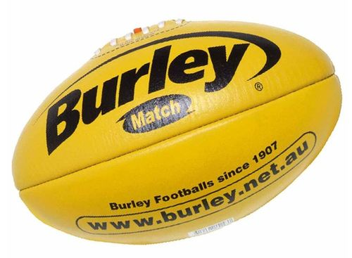 Football Australian Rules Burley Match Leder Gelb