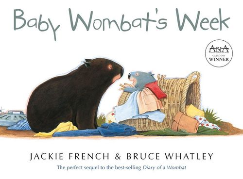 Baby Wombat's Week: Jackie French (engl.) 32 S.