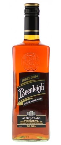 Beenleigh Rum 40% (QLD) 0,7L 5 Years